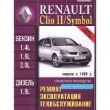 Руководство по ремонту Renault Clio / Clio 2 / Symbol. Модели с 1998 года выпуска, оборудованные бензиновыми и дизельными двигателями