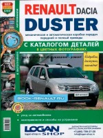 Руководство по ремонту в цветных фотографиях, инструкция по эксплуатации Renault Duster / Dacia Duster