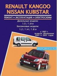 Руководство по ремонту Renault Kangoo / Nissan Kubistar