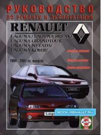Руководство по ремонту Renault Laguna / Laguna Break / Laguna Nevada / Laguna Comby