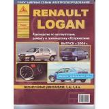 Руководство по ремонту Renault Logan. Модели с 2004 года выпуска, оборудованные бензиновыми двигателями