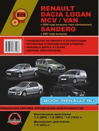 Руководство по ремонту Renault Logan / Renault MCV