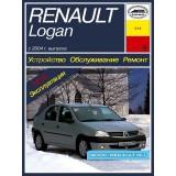 Руководство по ремонту Renault Logan. Модели с 2004 года выпуска, оборудованные бензиновыми двигателями.