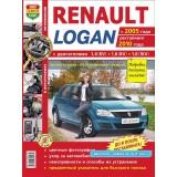 Руководство по ремонту Renault Logan. Модели с 2005 года выпуска (+рестайлинг 2010 г.), оборудованные бензиновыми двигателями