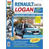 Руководство по ремонту Renault Logan. Модели с 2005 года выпуска (+рестайлинг с 2010), оборудованные бензиновыми двигателями