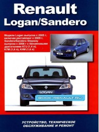 Руководство по ремонту Renault Logan / Sandero