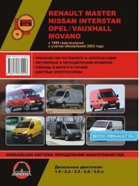 Руководство по ремонту Renault Master / Opel Movano