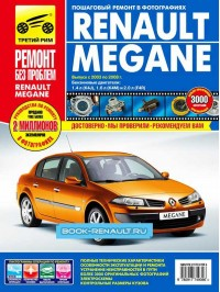 Руководство по ремонту Renault Megane 2 в цветных фотографиях