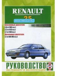 Руководство по ремонту Renault 25