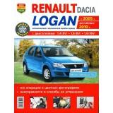 Руководство по ремонту Renault Logan. Модели с 2005 года выпуска (рестайлинг 2010 г.), оборудованные бензиновыми двигателями