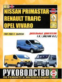 Руководство по ремонту Renault Trafic / Opel Vivaro / Nissan Primastar