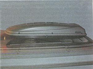 аэродинамический бокс Renault Megane II