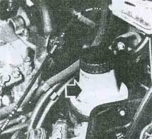 бачок гидроусилителя рулевого управления Renault 21