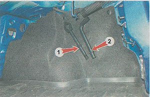 Буксировочная проушина Renault Logan 2