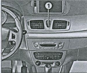 кнопка центрального замка Renault Megane