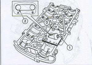 демонтаж толкателя Renault