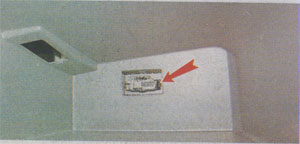 Диагностический разъем Renault Sandero 2