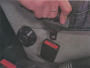Язычок пряжки Renault Sandero
