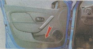 Карманы для мелких вещей Renault Sandero 2
