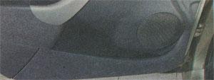 карманы для предметов Renault Sandero, карманы для предметов Dacia Sandero