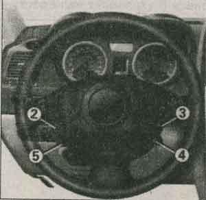 клавиши памяти Renault Megane