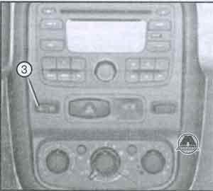 кнопка замка дверей Renault Duster