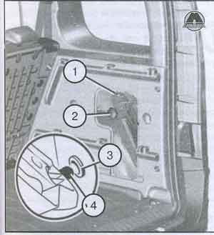 комплект инструмента Renault Kangoo II