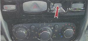 контрольная лампа ремня безопасности Renault Duster