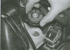 крышка бачка Renault Megane