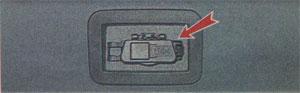 крышка вещевого ящика Renault Sandero, крышка вещевого ящика Dacia Sandero