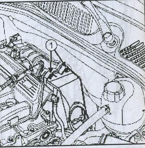 крышка воздухоочистителя Renault Simbol II, крышка воздухоочистителя Renault Thalia
