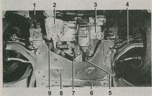 передняя подвеска Renault Megane II