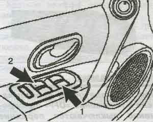 переключатель стеклоподъёмников Renault Clio 2, переключатель стеклоподъёмников Renault Clio 3