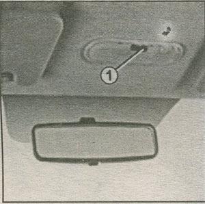 плафон Renault Duster