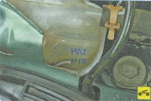 расширительный бачок Renault Megane II