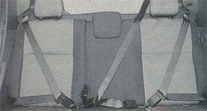 ремни безопасности Renault Duster