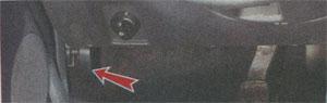 ручки капота Renault Sandero, ручки капота Dacia Sandero