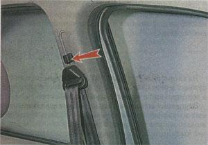 Рычаг блокировки Renault Sandero