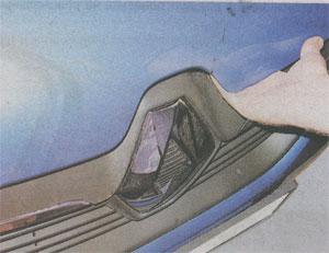 Рычаг фиксатор Renault Sandero 2
