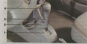 селектор режимов Renault Logan