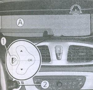 Щиток приборов Renault Scenic, Щиток приборов Grand Scenic