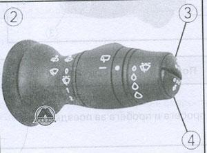 сигнальная лампа Renault Scenic, сигнальная лампа Renault Grand Scenic