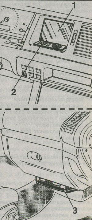 система навигации Renault Safrane