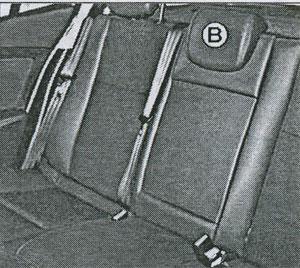 стержни подголовника Renault Megane