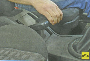 стояночный тормоз Renault Megane II