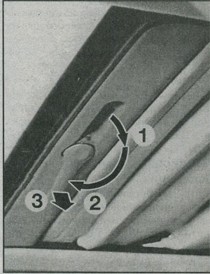 тканевый люк Renault Tvingo