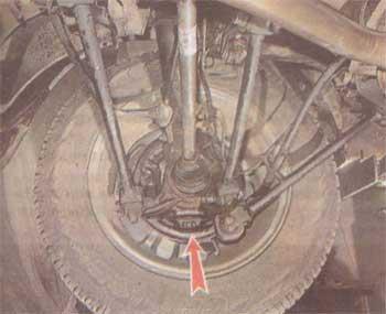 Тормозной щит Renault Duster