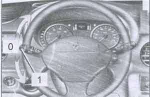 указатель поворотов Renault Kangoo, указатель поворотов Nissan Kubistar