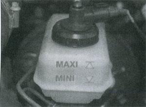 уровень жидкости Renault 25