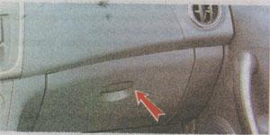 Вещевой ящик Renault Sandero 2